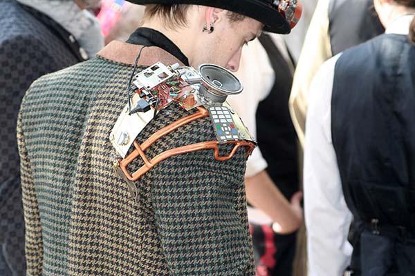 steampunk costumer photo
