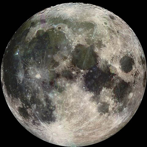Photograph of the moon