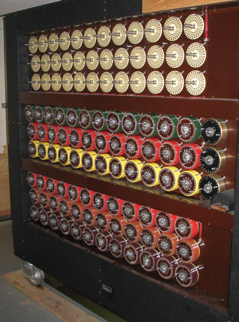 Photograph of a Turing Bombe