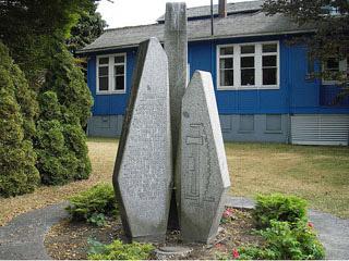 Hastings Mill commemorative monument