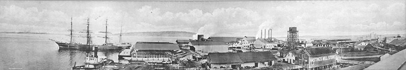 Panorama of the Hastings Mill