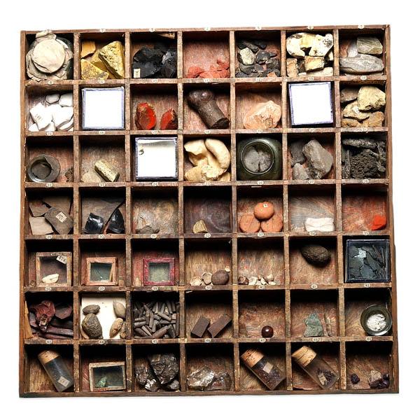 Specimen Tray of Hans Sloane