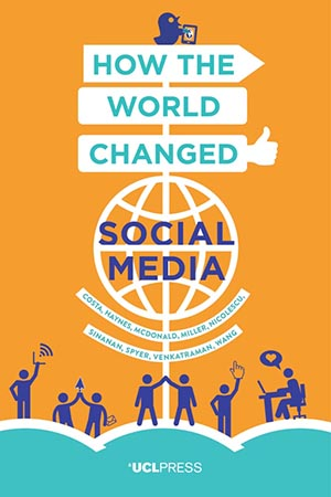 "Cover of ""How the World Changed Social Media"""