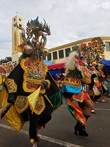 bailarines carnavalescos