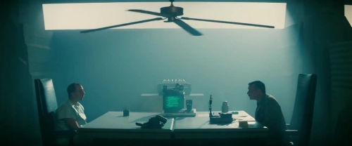 screen capture from the Blade Runner Scene mentioned in the text