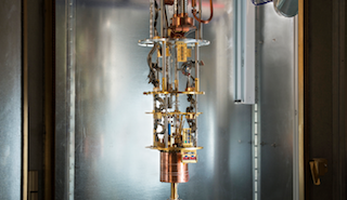 An image of a version of D-Wave's quantum computer
