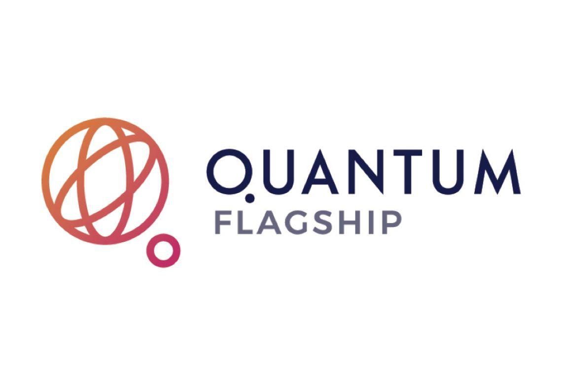 A logo for the European Union's flagship Quantum technology venture