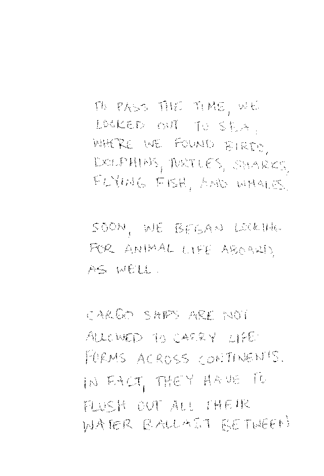 Handwritten black text on a white background. See expanded description in Footnote 4.